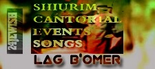 Hag Shavuot--shiurim